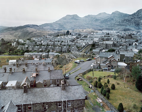 Blaenau Ffestiniog by James Morris. Photo © the artist