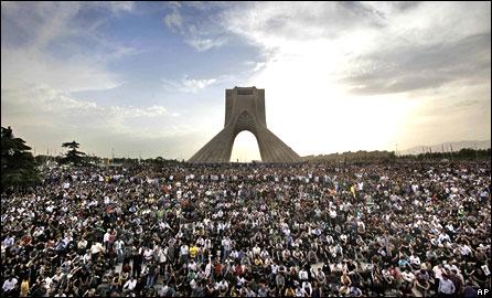 BBC World Service - News - Iran demonstrations