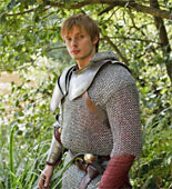 Arthur's (Bradley James) life hangs in the balance