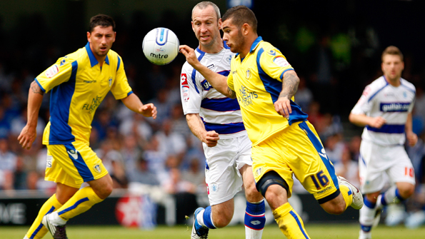 Leeds won their final match of the season against QPR and finished seventh in the Championship. Photo: Getty Images