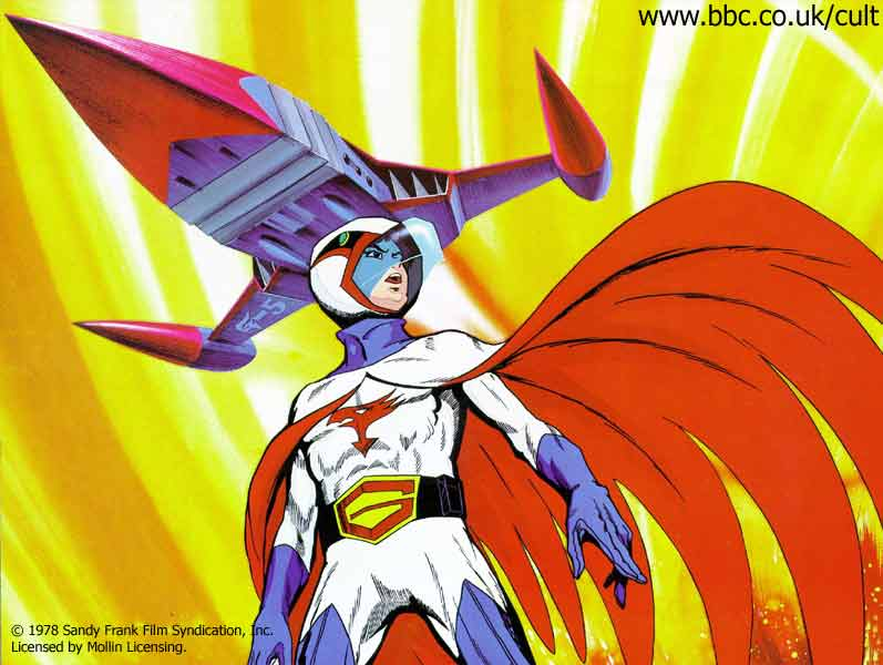 G Force Anime Characters : Battle of the planets wallpaper
