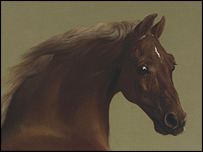 Whistlejacket by Stubbs: © The National Gallery