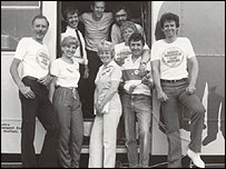 Peter Crabtree and the Radio Sheffield team