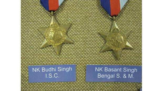 Sikh Star Medals from World War Two
