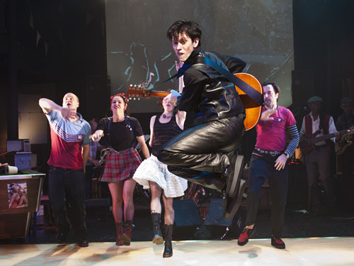 A scene from Graeae Theatre's Reasons to be Cheerful