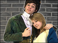Jack Bannon and Becky Hadley