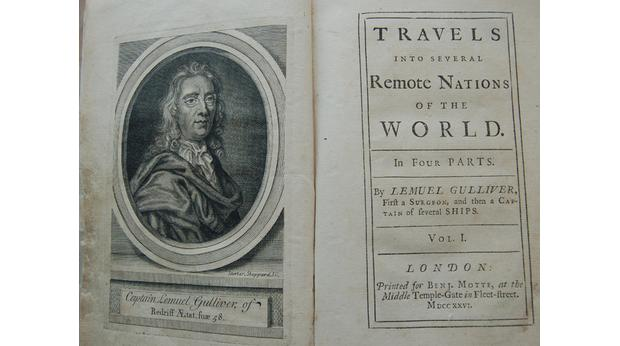 Gulliver's Travels, first edition 1726