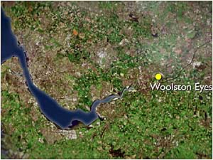 Woolston map