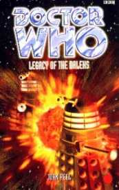 Book cover of Legacy of the Daleks