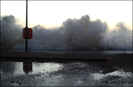 Felixstowe seafront (09/11/2007), by David Cole