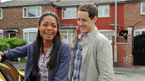 Alison (Naomie Harris) relationship with Ben (Andrew Knott) grows