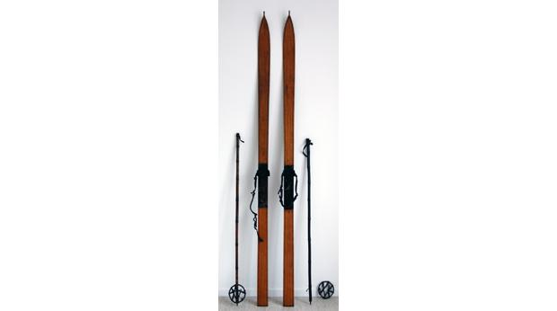 Scott of the Antartic decided against using these skis to get to the South Pole© Plymouth City Museum & Art Gallery