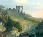 Painting of Rosslyn Castle