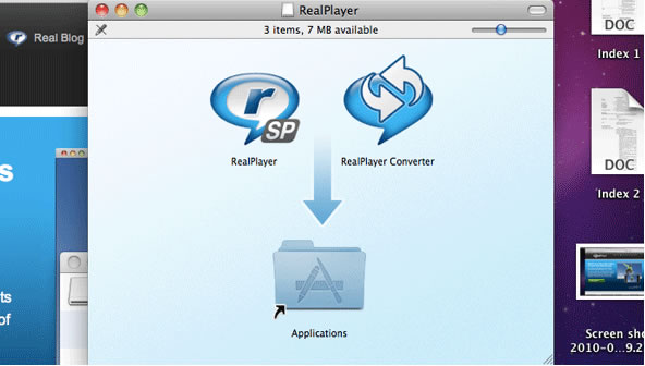 instalar real player hd mac
