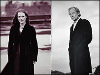 Julianna Moore and Bill Nighy in Dave Hare's Vertical Hour