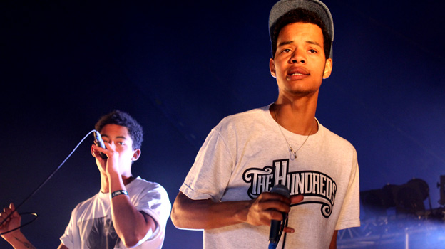 Rizzle Kicks at Big Weekend 2011