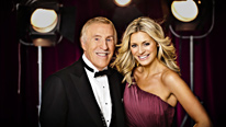 Bruce Forsyth and Tess Daly host the glittering celebrity dance contest