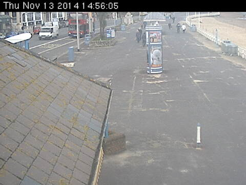 Image courtesy Weymouth.gov.uk. The BBC is not responsible for the content of external webcams.