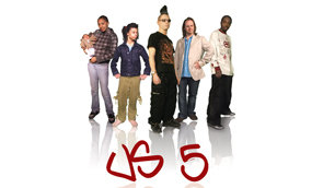 Us 5 featuring Diamond, Phoebe, Spock, Spudnik and Will