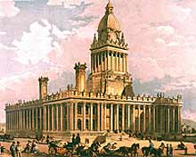 Civic pride - Leeds Town Hall, 1858