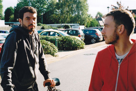 Tom Cullen and Chris New. Photo: Quinnford & Scout