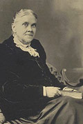 Ellen G White at the age of 72