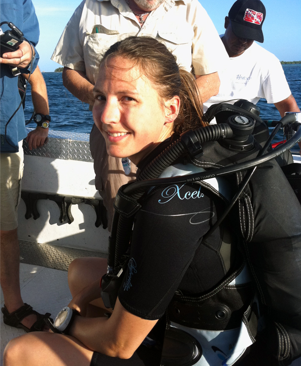 helen czerski in belize