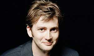 David Tennant, who plays the Doctor in Doctor Who