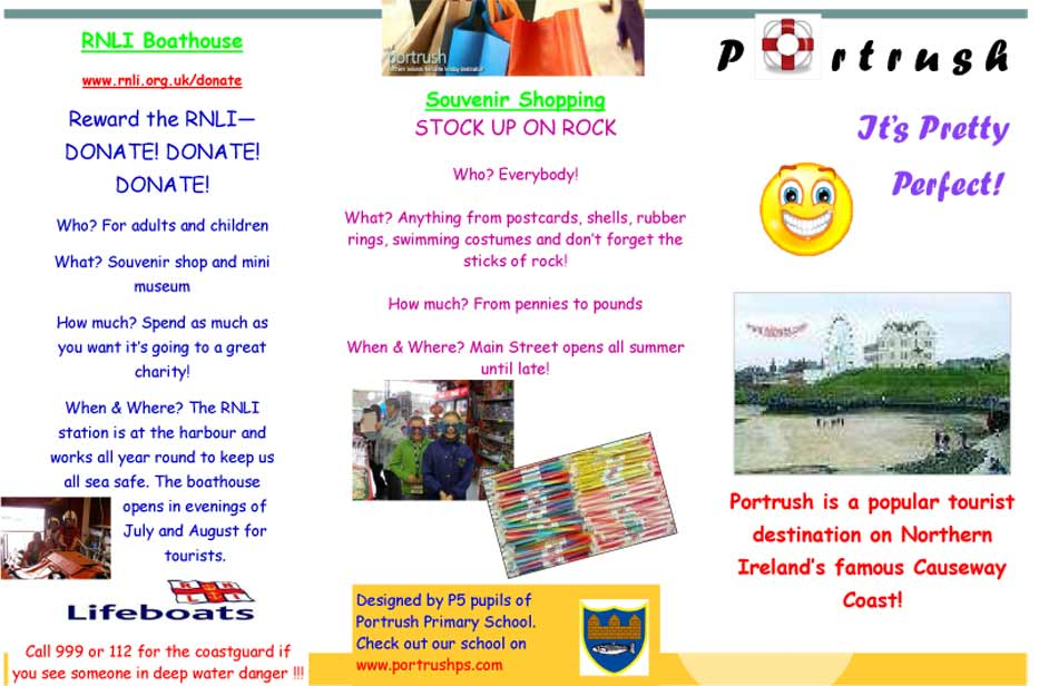 BBC - My Place My Space - Competition - Portrush Primary School