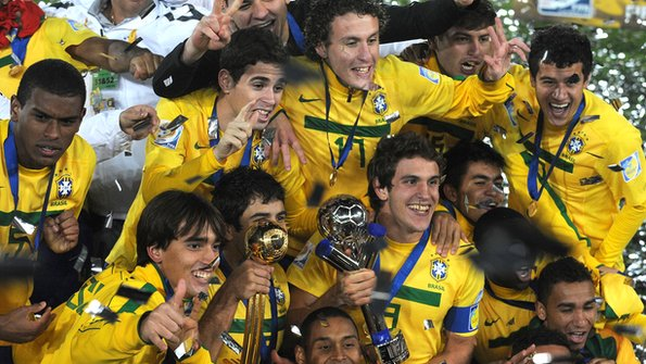Brazil winning the Under-20 World Cup
