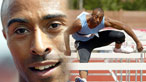 Colin Jackson in action