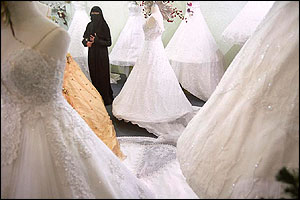 Shopping For A Wedding Dress In Sanaa C Tim Smith