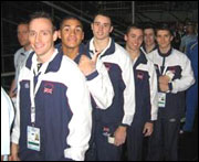 Men's GB Gymnastics Team