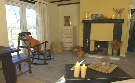 inspiring industrial farmhouse living room | BBC - Homes - Design inspiration - Rustic Farmhouse Living ...