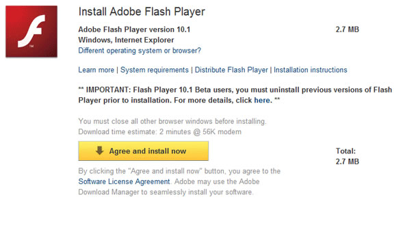 BBC - WebWise - How do I install the Adobe Flash Player plug