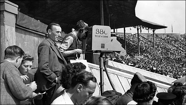 BBC camera at the 1948 London Olympic Games