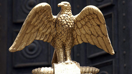 An Eagle, an emblem of the romans