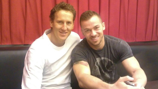 Brendan Cole and Artem Chigvintsev