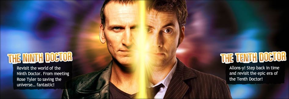 Revisit the world of the Ninth and Tenth Doctor.