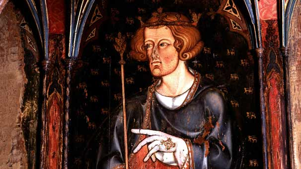 Portrait of Edward I of England