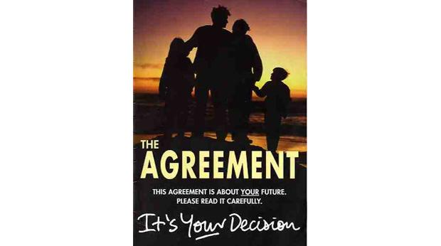 Bbc A History Of The World Object Good Friday Agreement