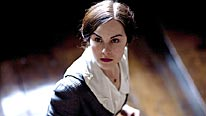 Michelle Dockery plays young governess Ann in BBC One's chilling ghost story