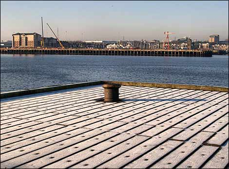 Frost on the Tyne