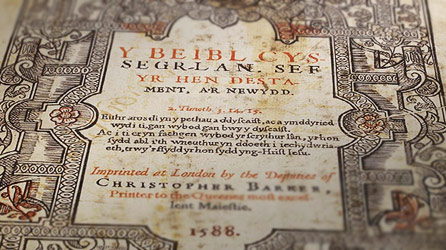 BBC Wales - History - Themes - Welsh language: The Bible in