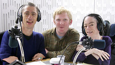 Mat Fraser, Rob Crossan and Liz Carr