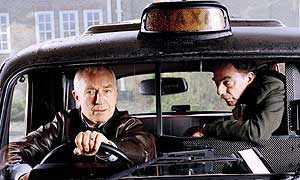 Paul Freeman as Ray and Alun Armstrong as Jim in When I'm 64