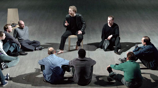 Hamlet and the players