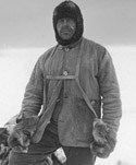 Photo of Captain Scott in his sledging gear