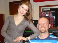 John with Hayley Westenra