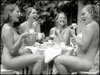 Gloucestershire naked wife